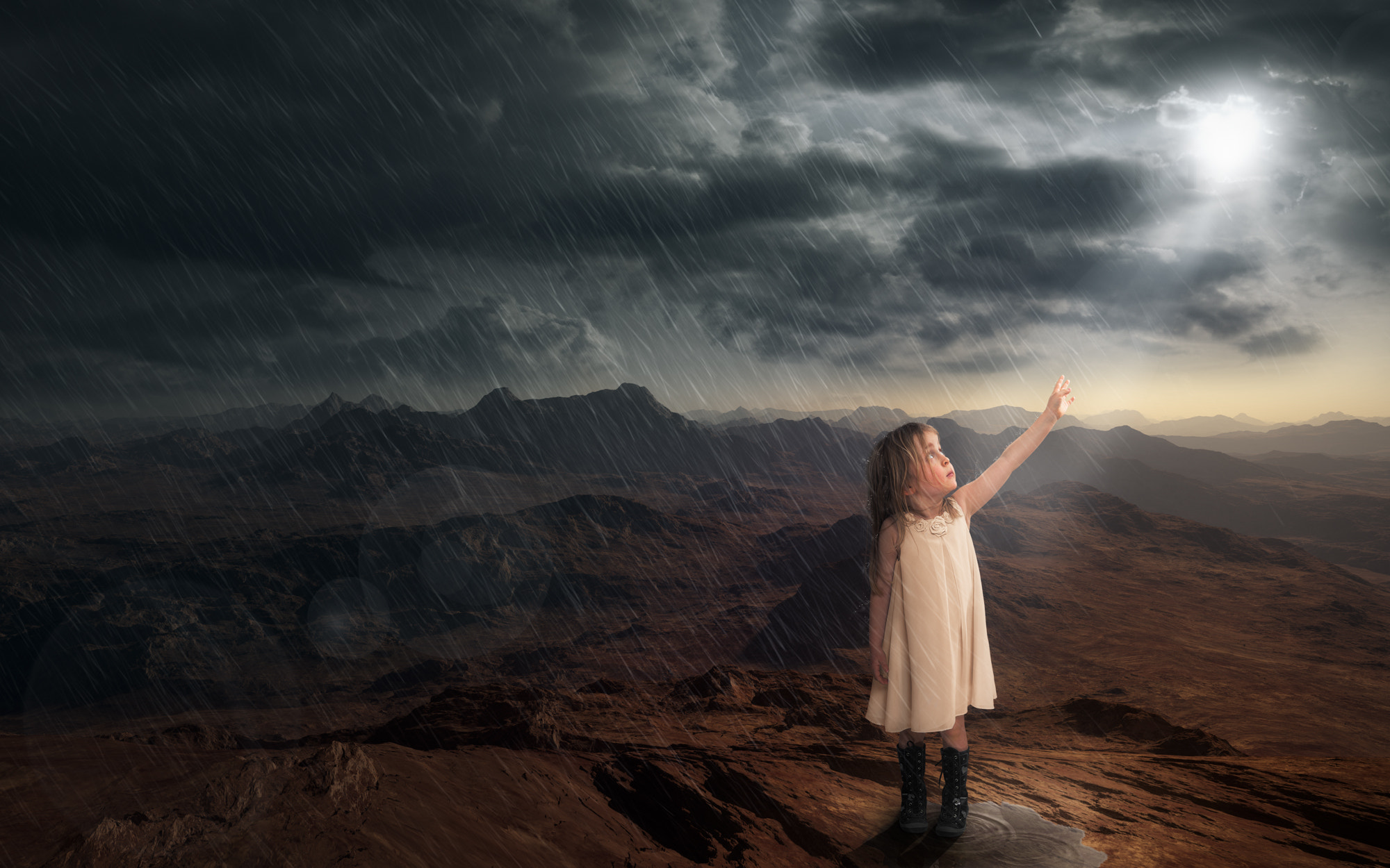 Photograph It will rain 1 (Cover for Dina Kucera's 2nd book) by John Wilhelm is a photoholic on 500px