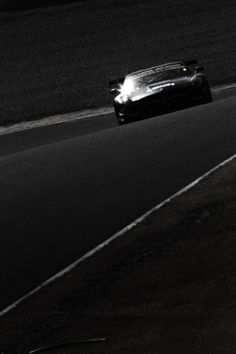 Photograph Black Arrow  - Japanese SuperGT SLS AMG GT3 / 2013model by masa muranaka on 500px