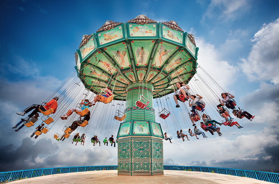 Photograph Swing Ride by Eric Rousset on 500px