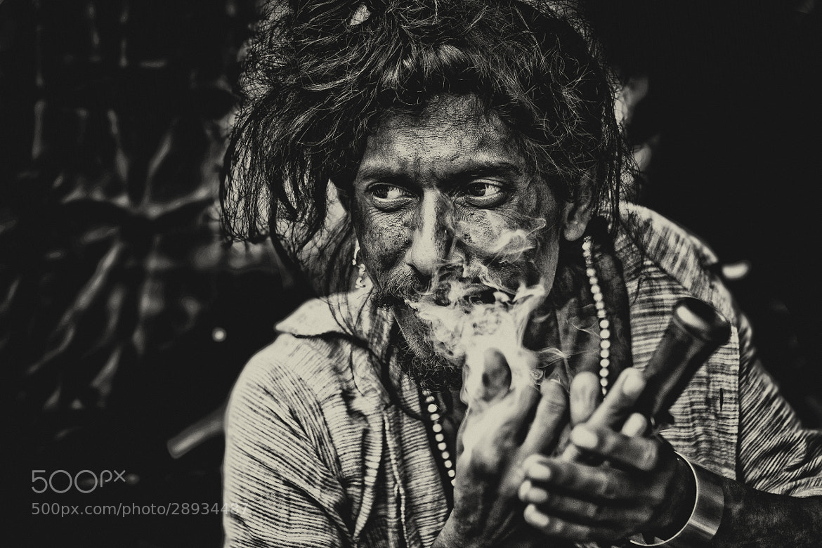 Photograph The smokeman... by Ananta Chowdhury on 500px