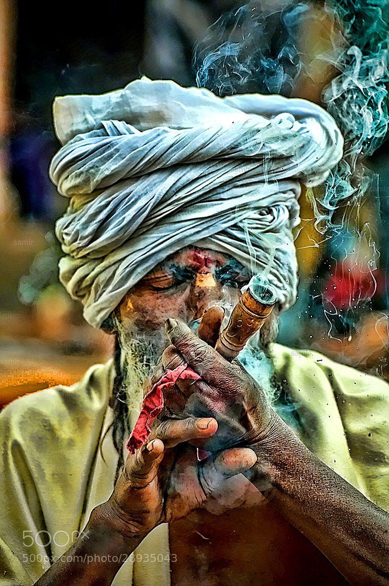 Photograph Marijuana Baba by Samir Pradhananga on 500px