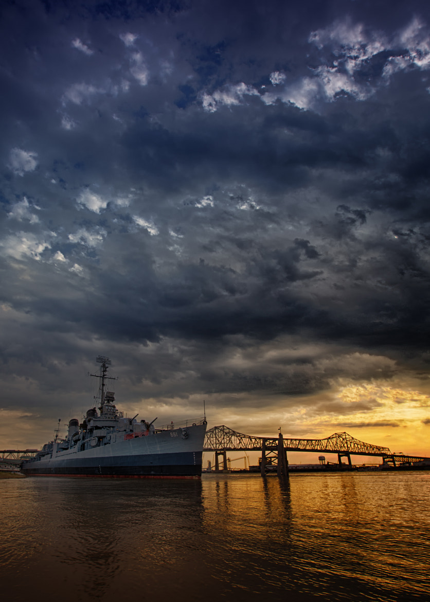 Photograph Sunset Downtown Baton Rouge by Darrell Miller on 500px