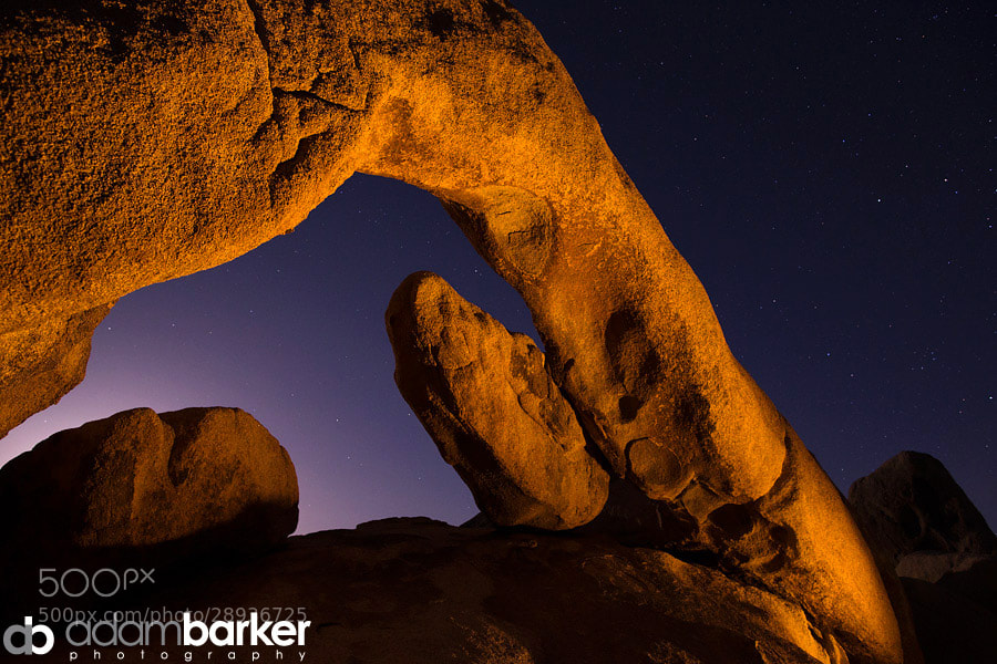 Photograph Joshua Tree Moonscape by Adam Barker/AdamBarkerPhotography.com on 500px