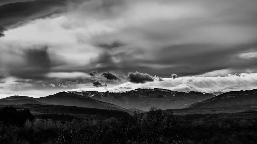 Mountains and clouds by Milen Mladenov on 500px.com