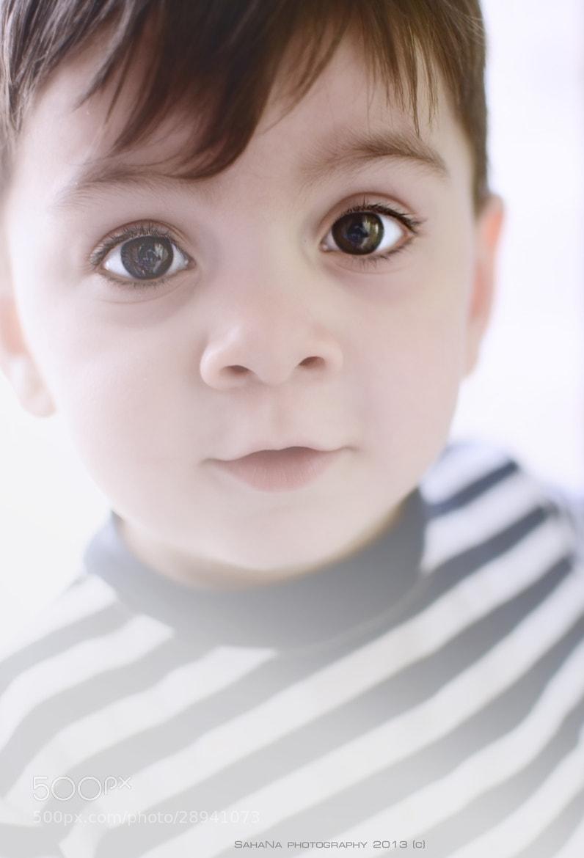 Photograph Piercing child's look by SahaNa Photographer on 500px