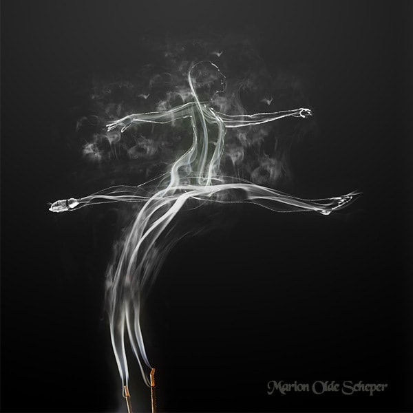 Photograph Danser in Smoke by Marion Olde Scheper on 500px