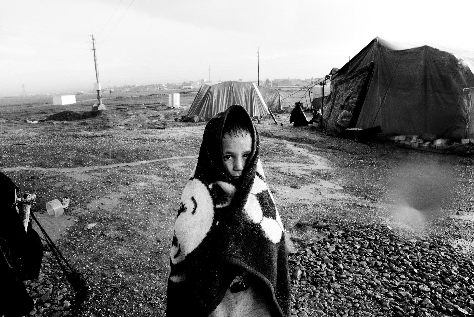 Photograph syrian refugee camp in iraq by sartep othman on 500px