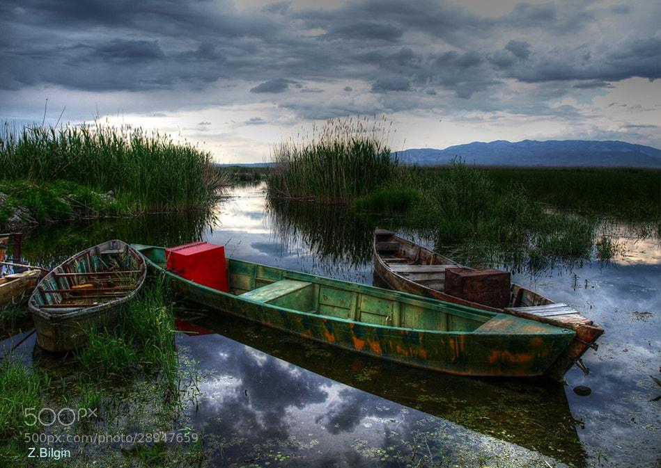 Photograph Eber lake      (Sultandağı/Afyonkarahisar/Turkey) by Zeki Bilgin on 500px