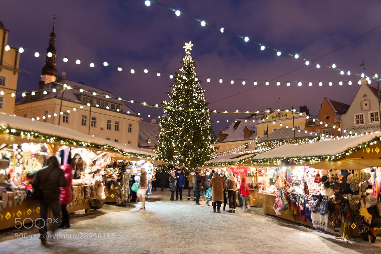 Photograph Tallinn, Estonia - Christmas Tree by David Min on 500px