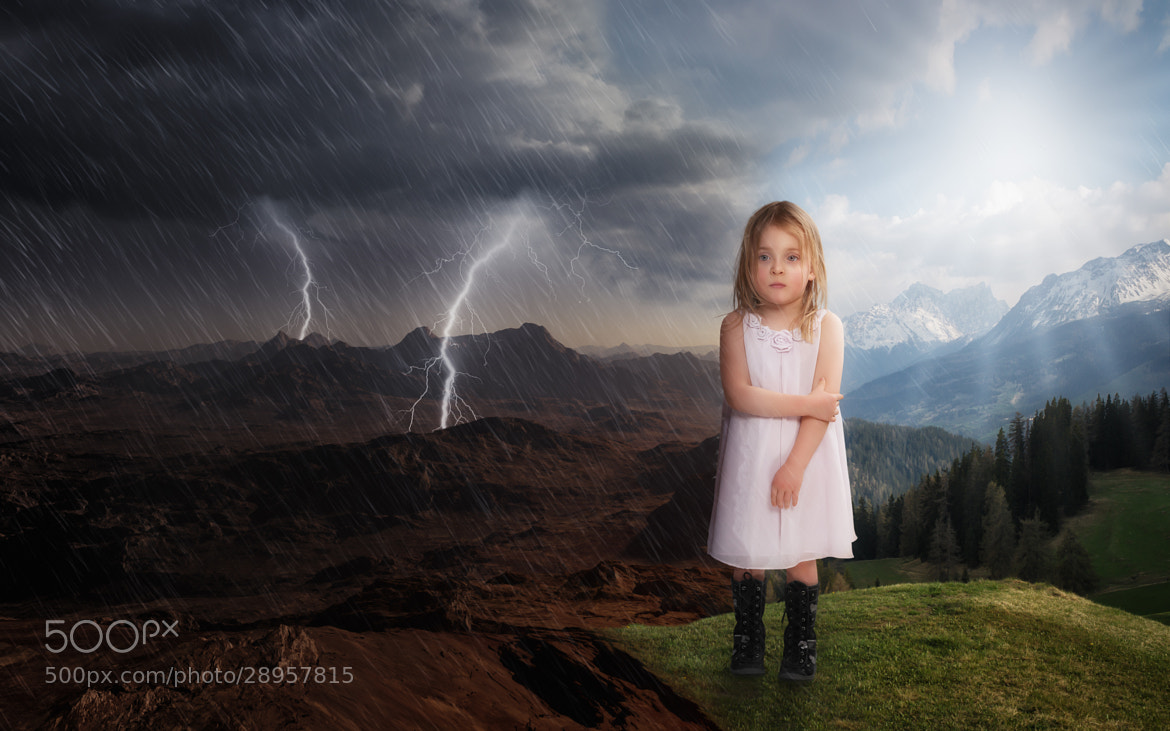 Photograph It will Rain 2 (Cover for Dina Kucera's 2nd book) by John Wilhelm on 500px