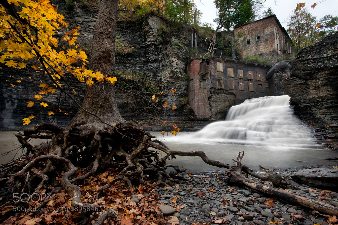 Photograph Wells Falls In The Fall by Mike Orso on 500px