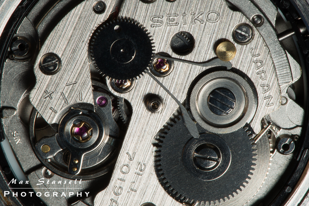 Photograph Seiko Timepiece by Max Stansell on 500px