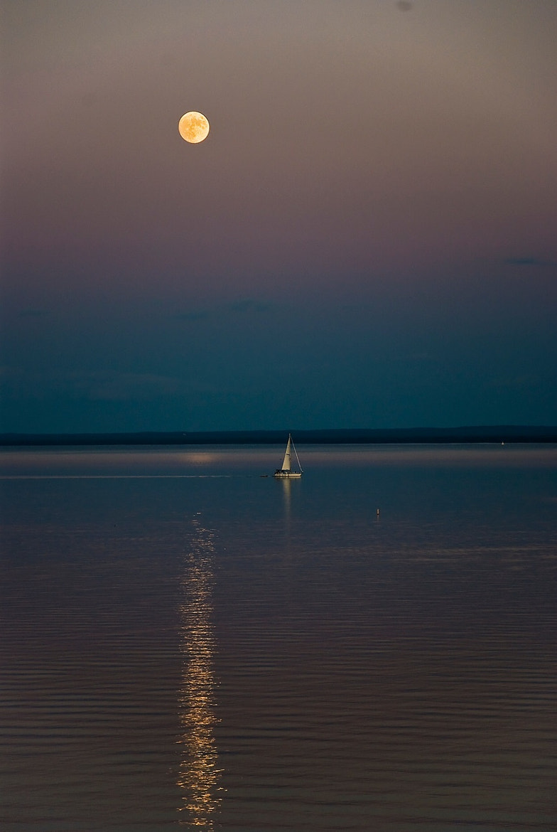 Photograph Moonlight Sail, Lake Superior by Mark Mathison on 500px