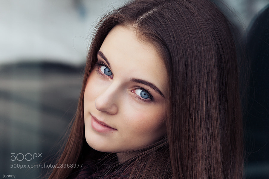 Photograph one little smile by  Evgeny Kuznetsov on 500px
