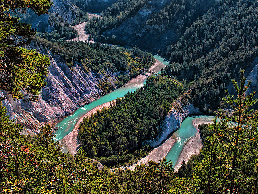 Photograph  Swiss Canyon by Michele Galante on 500px