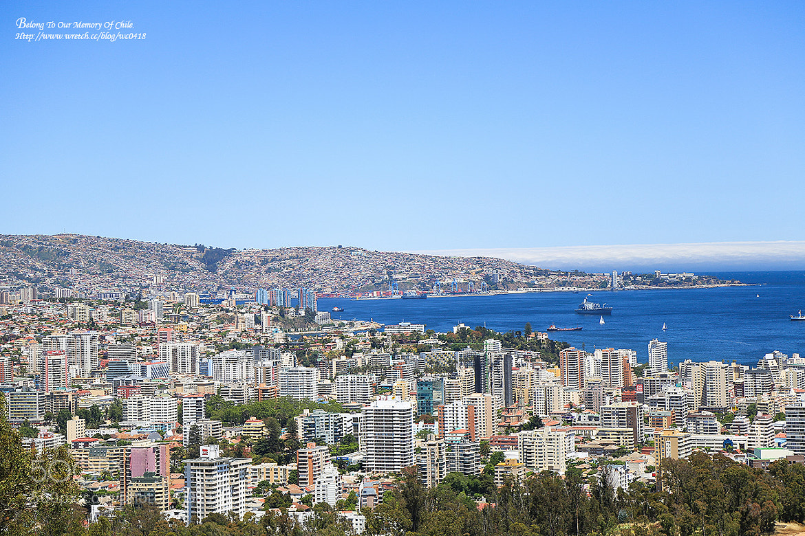 Photograph Valparaíso, Chile panoramic landscape by 憲龍 周 on 500px