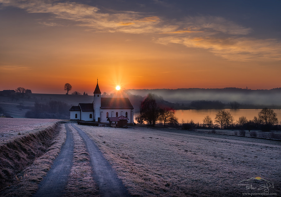 Frosty sunrise by Peter Zajfrid | 500px.com