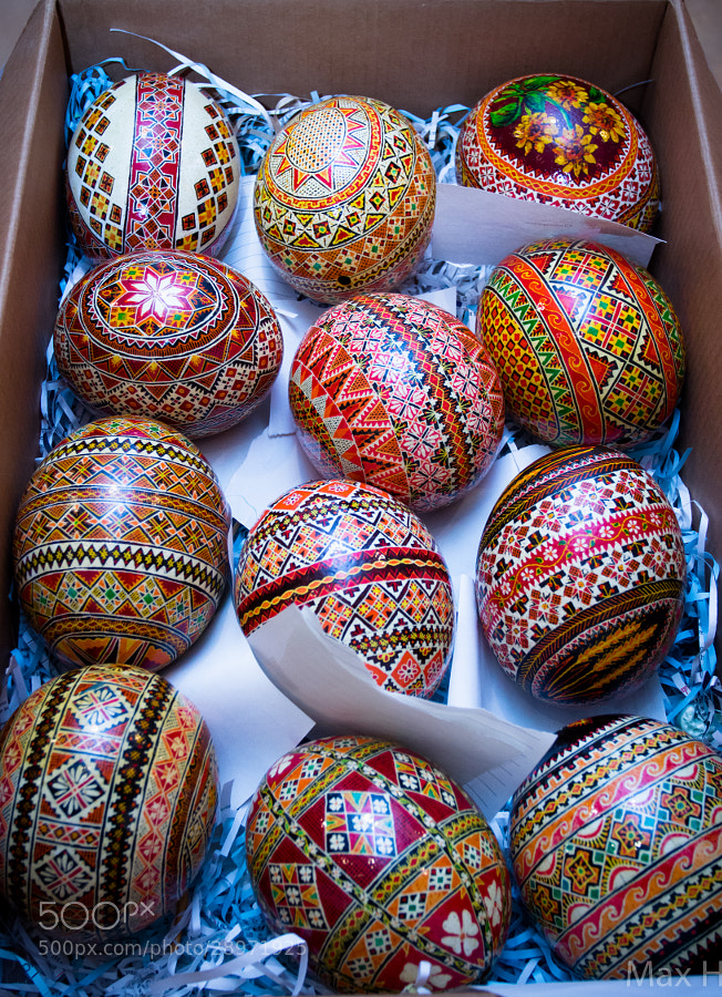 Photograph Ukrainian Easter Eggs by Max H on 500px