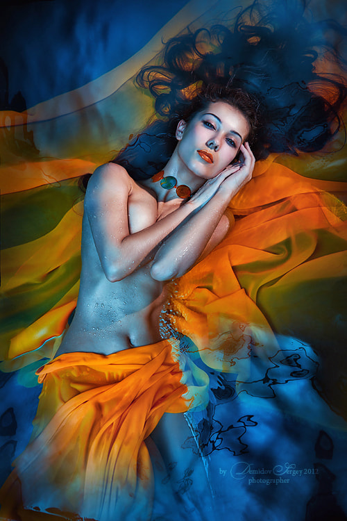 Photograph in water by Demidov Sergey on 500px