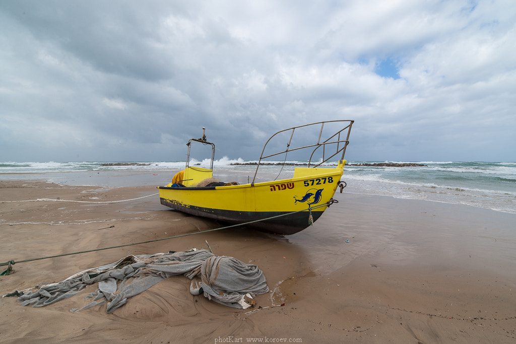 Photograph Yellow fishing boat by Alex Koroev on 500px