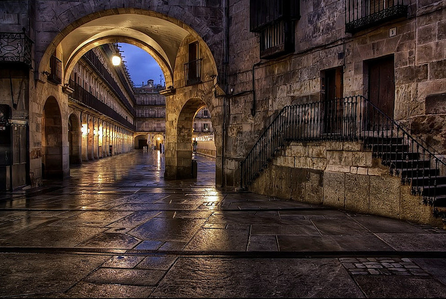 Photograph Salamanca in the night by Isidoro M on 500px