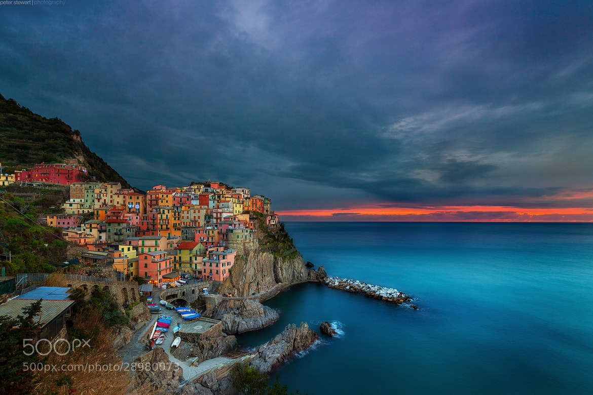 Photograph Manarola, Cinque Terre by peter stewart on 500px