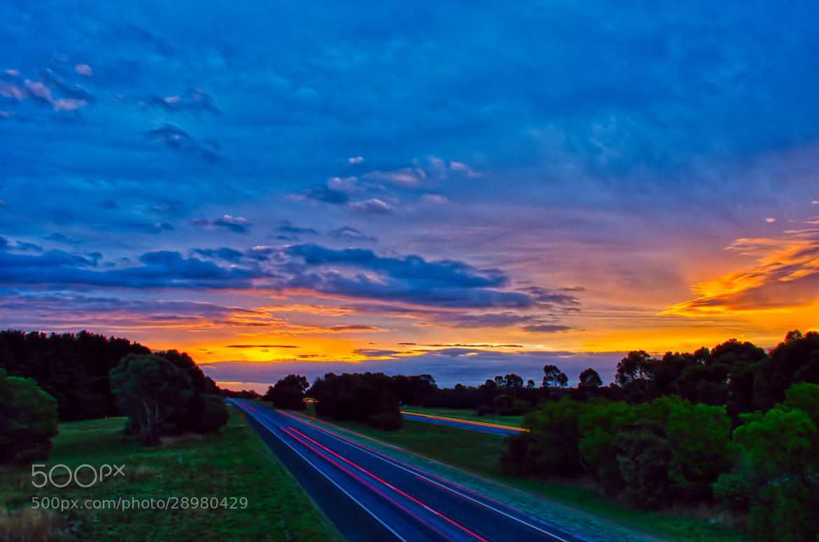 Photograph Down the highway by Pieter Pretorius on 500px