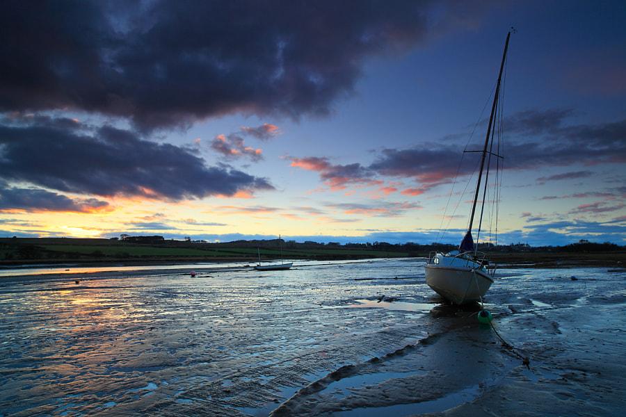 Last light, Alnmouth
