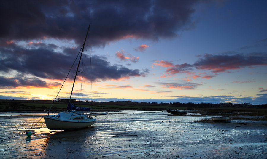 Evening light, Alnmouth