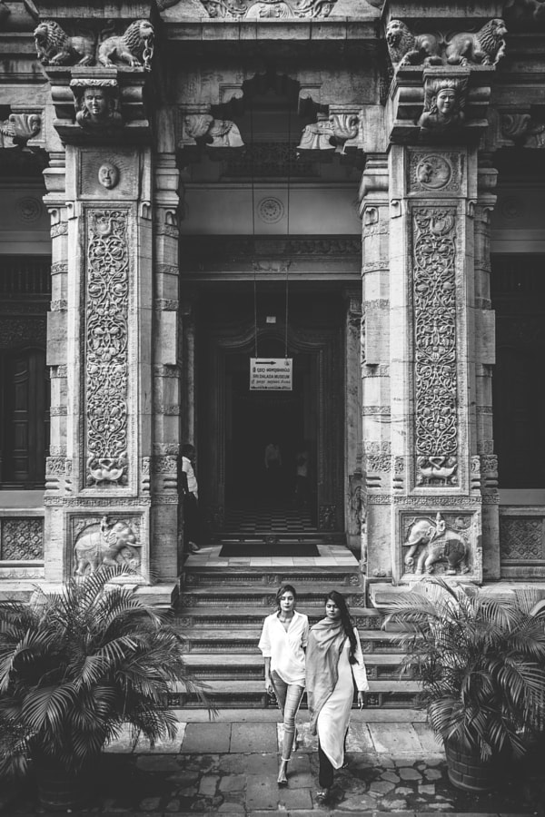 Doorway, Temple of the Tooth, Kandy #2 by Son of the Morning Light on 500px.com