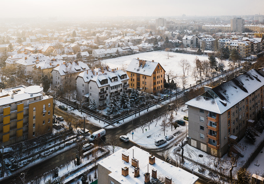 I like this morning winter cityscape! by Szabo Viktor on 500px.com