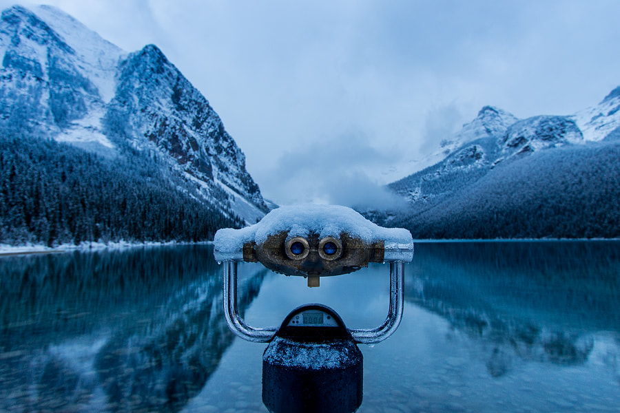 Lake Louise Blue Morning by Megan Belford on 500px.com