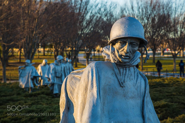 Photograph Korean War Soldier Statue by Scott Nelson on 500px