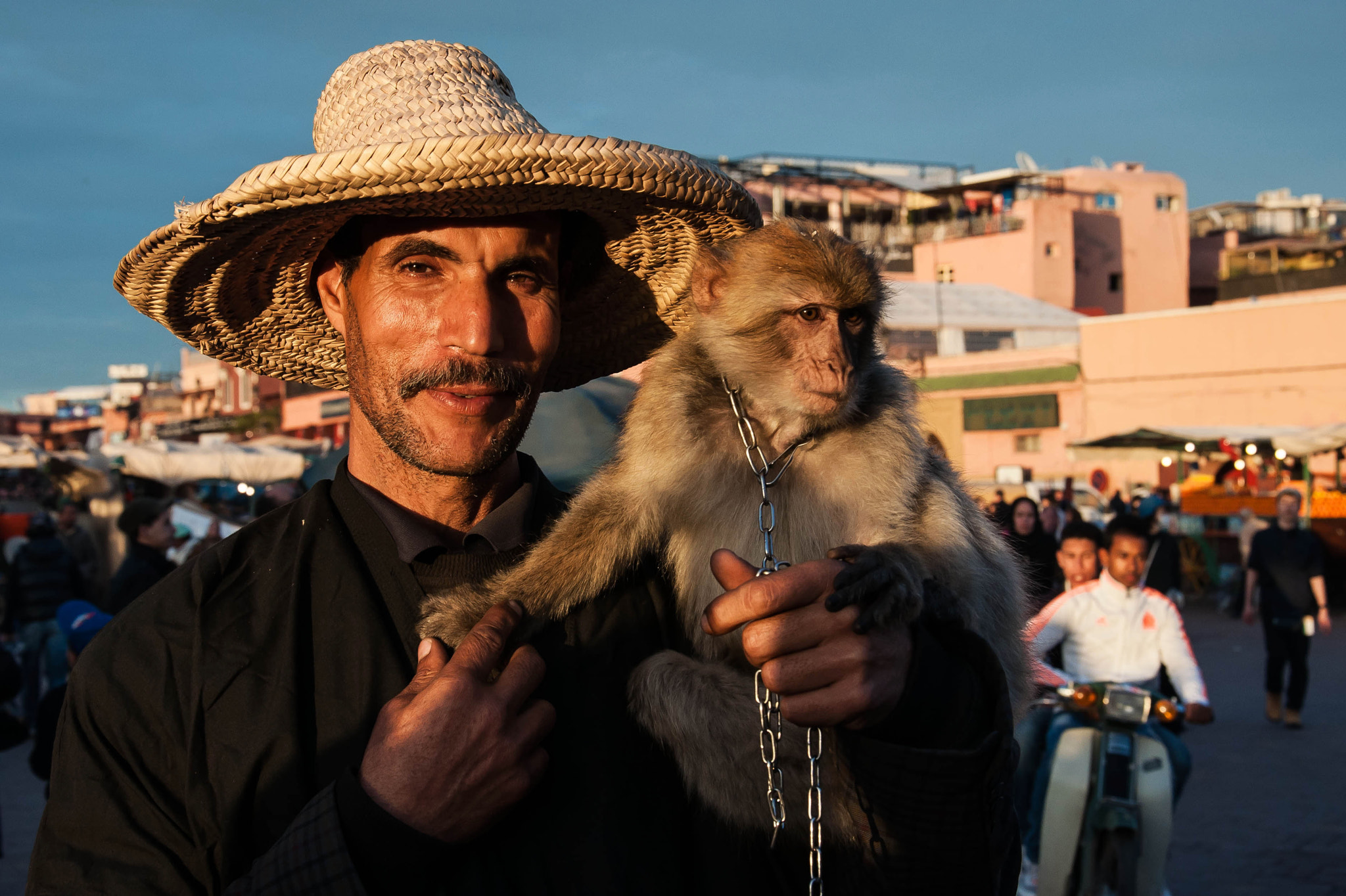 Photograph Monkey tamer by Léo  Lamant on 500px
