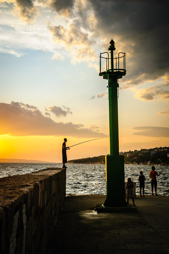 Photograph Fishing at sunset by zvonkomir on 500px