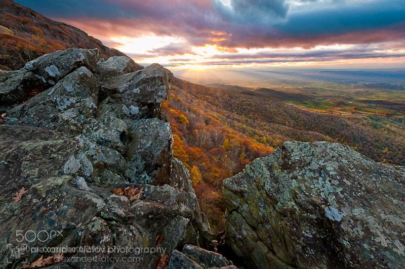 Photograph Little Stony Man Sunset by Alex Filatov | alexfilatovphoto.com on 500px