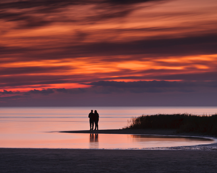 Photograph Romantic Sunset by Michael Blanchette on 500px
