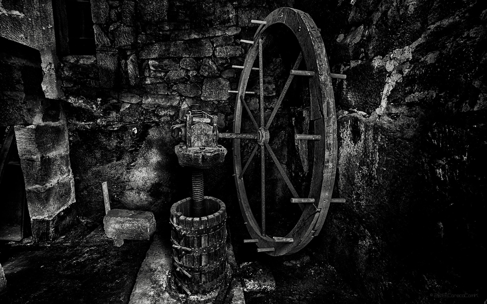 Photograph oil mill I by Careca Com K on 500px