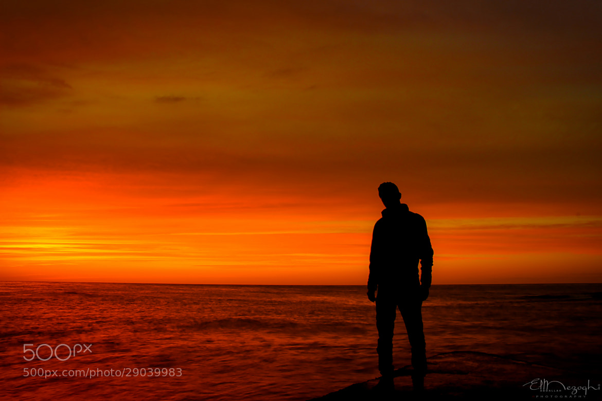 Photograph Silhouette by AbdallaH ElmezOghi on 500px