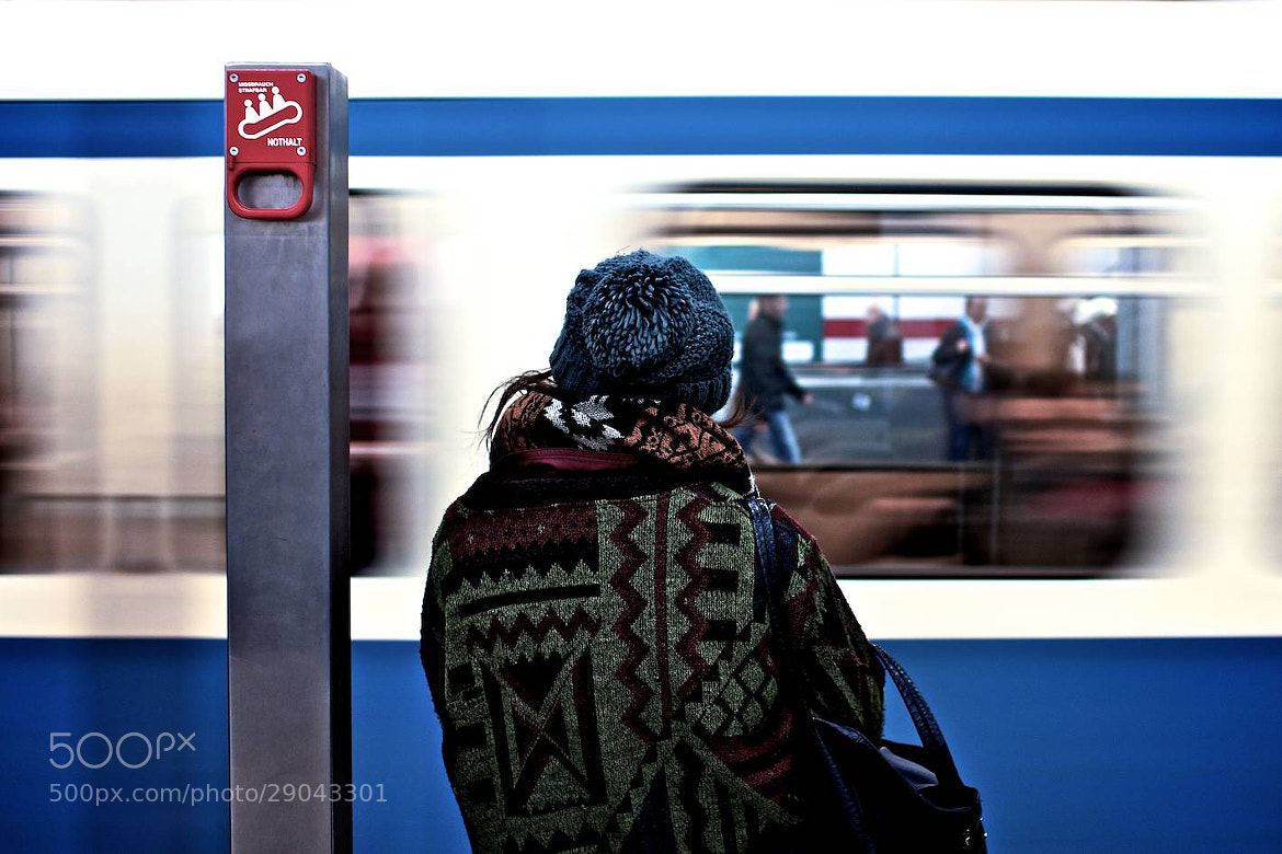 Photograph Subway People III by Thomas Bonfert on 500px