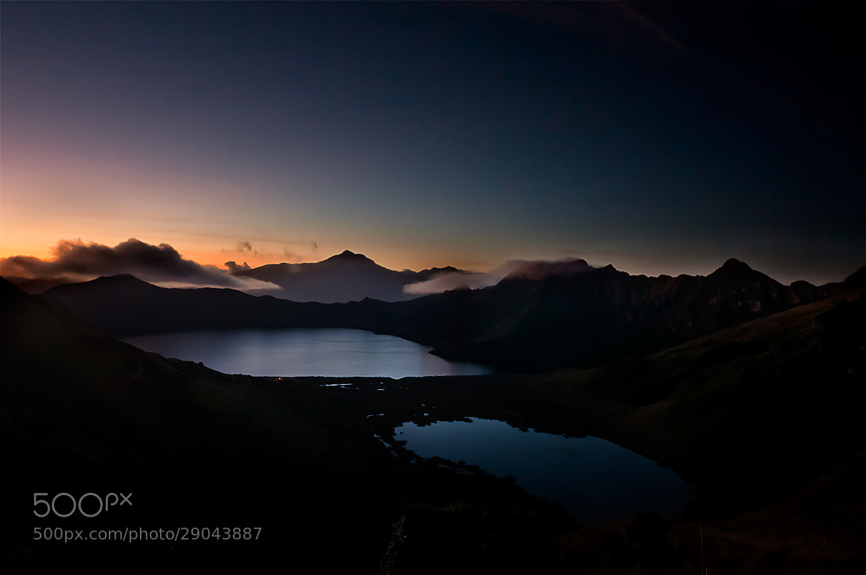 Photograph Mojanda sunset by Fernando Salas on 500px