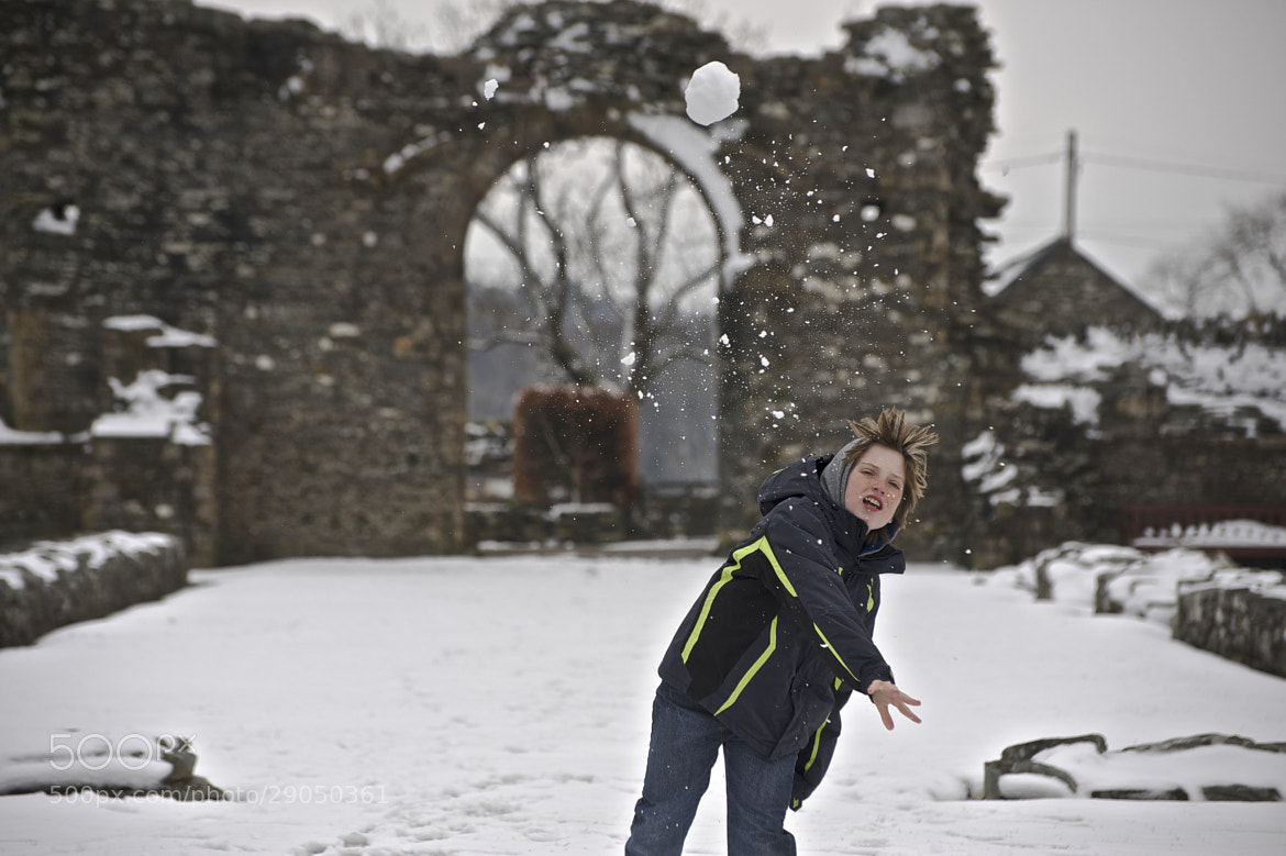 Photograph Snowball Fight by Craig Kirkwood on 500px