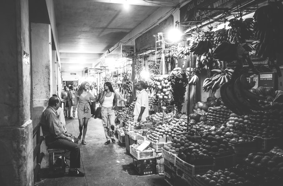 A Night at the Fruit Market, Kandy #5 by Son of the Morning Light on 500px.com