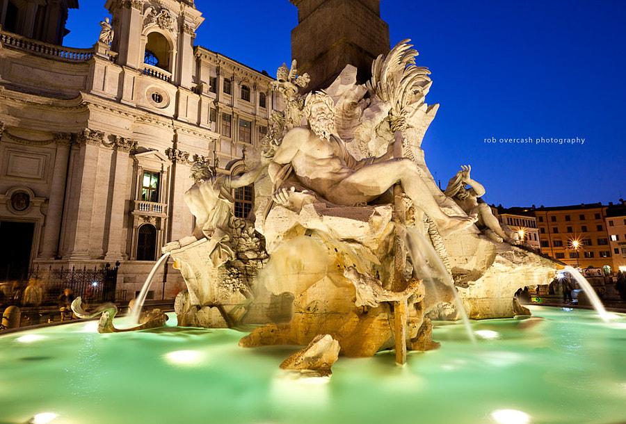 Fontana dei Quattro Fiumi ...