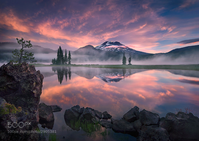Photograph Tranquility by Marc  Adamus on 500px