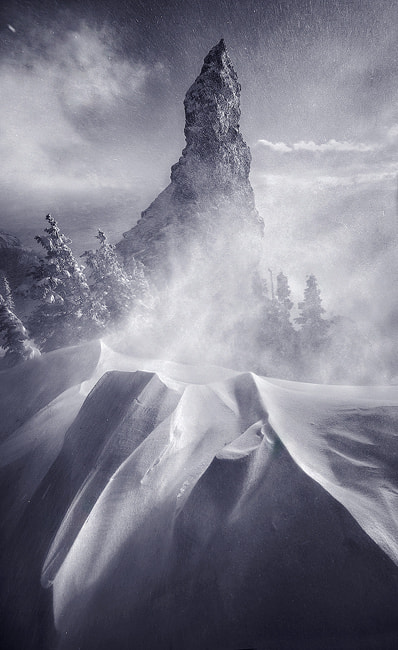 Photograph Winter's Fury by Marc  Adamus on 500px