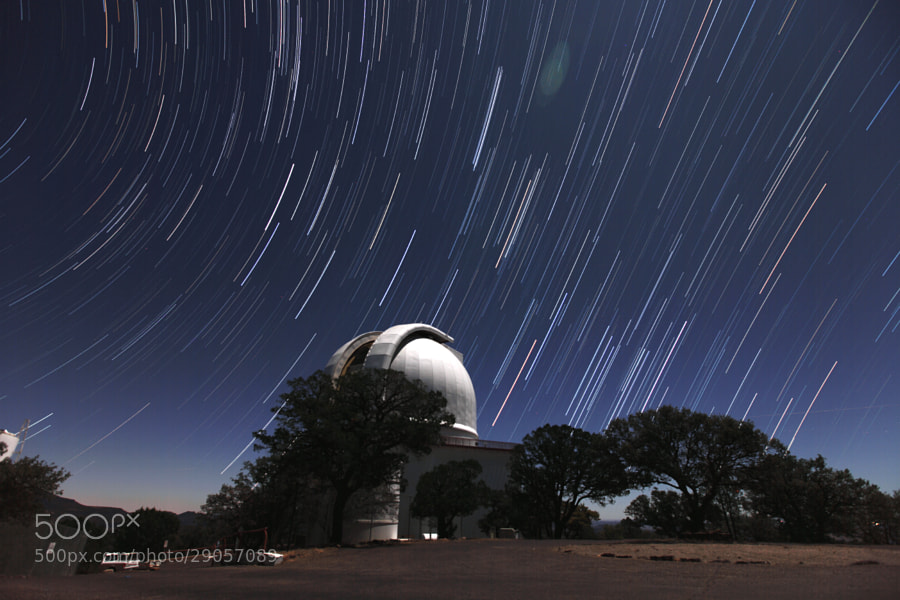 Photograph Star trail with McDonald Observatory by Dohyeong Kim on 500px