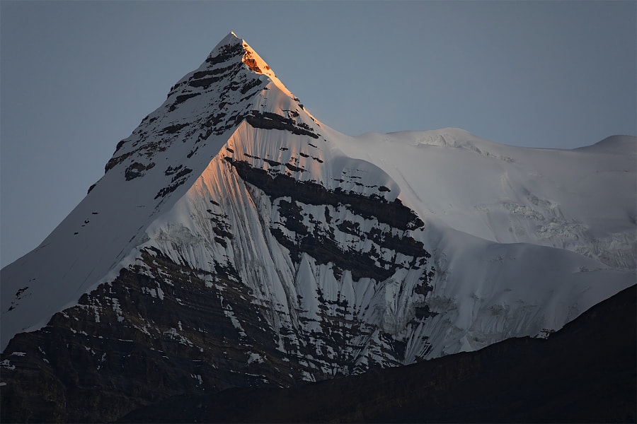 Pyramid on the border of the Himalayas and Tibet by Сергей К on 500px.com