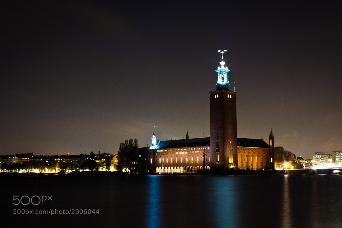 Photograph Stadshuset Stockholm by Robin Dahling on 500px