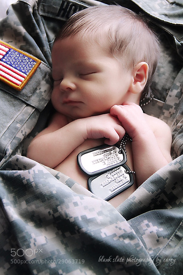 Photograph Daddy's Little Soldier by Carey Johnson on 500px